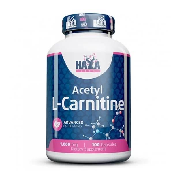 HAYA LABS Acetyl L-CARNITINE x100caps