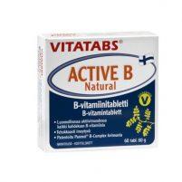 Vitatabs Active B Natural x60 tabs