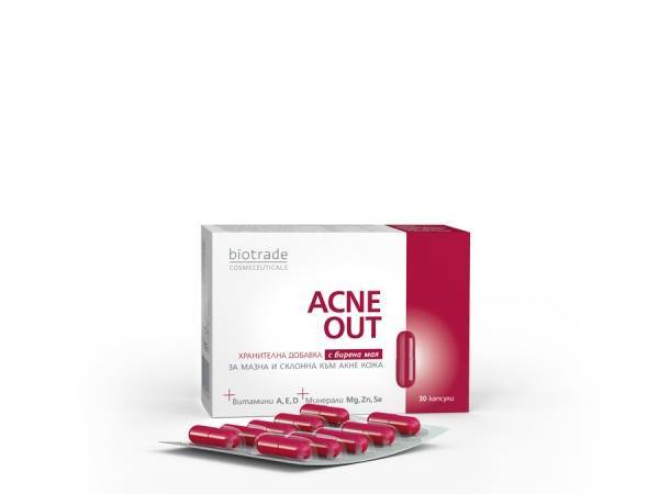 ACNE OUT 30 CAPSULES