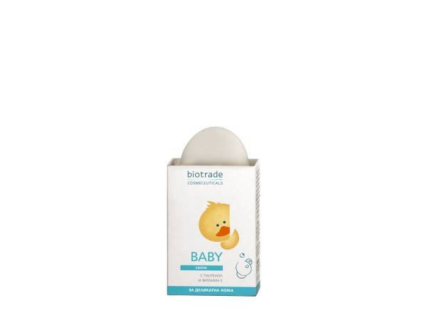 BABY SOAP WITH PANTHENOL AND VITAMIN E 100g