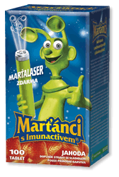 MARTIANS WITH IMUNACTIV 100 + Laser