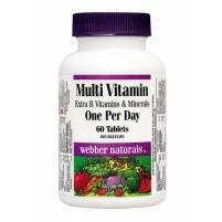 Multi Vitamin with Extra Bs and Minerals - 60 tablets