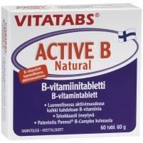 Vitatabs Active B Natural