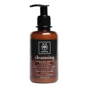 Creamy Face & Eye Foam Cleanser