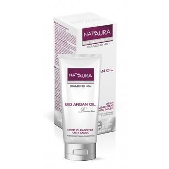 "Deep cleansing face mask ""NAT'AURA"" 45+"