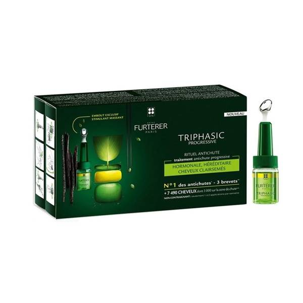 Rene Furterer Triphasic Serum against progressive hair loss
