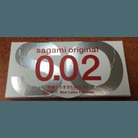 Sagami Original 0.02 -2 pcs