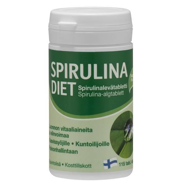 Spirulina Diet 115 tabs