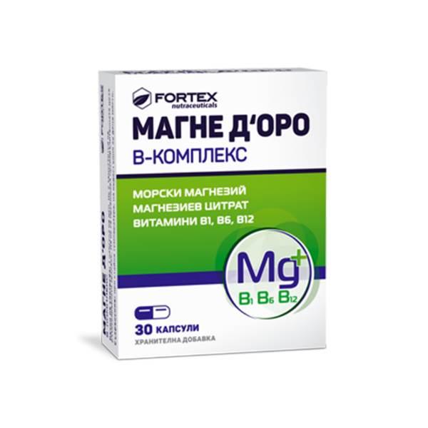 Magne D'Oro B-complex x30caps