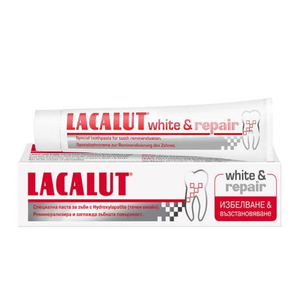 LACALUT WHITE & REPAIR TOOTHPASTE x75ml
